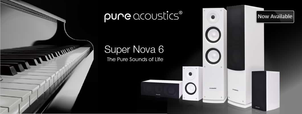 Pure Acoustics - banner