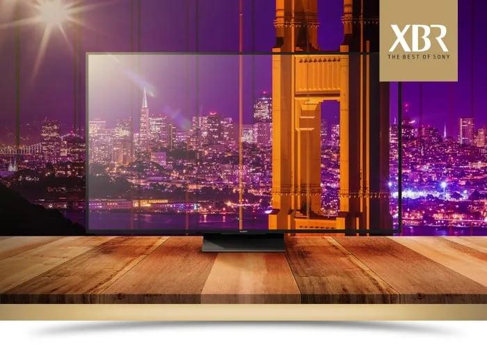 Linha de TVs Sony XBR